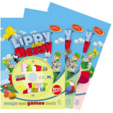 Lippy and Messy - Songs and Games 1, 2, 3 (1-30)