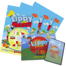 Lippy and Messy - Songs and Games 1, 2, 3 (1-30) a ABC (1-26)